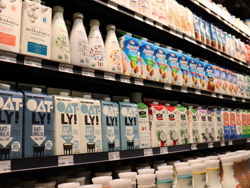 Rollin' Oats St. Pete Expands Dairy-Free Section
