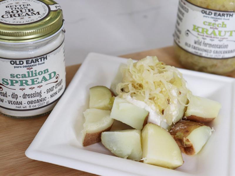 Vegan Kraut Potato Salad