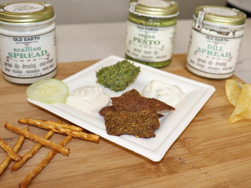 Vegan Old Earth Snack Plate