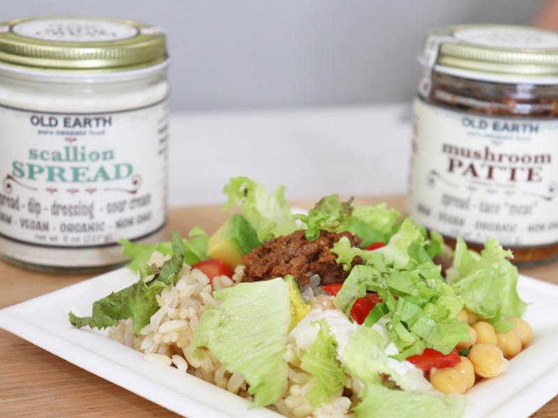 Vegan Spicy Rice and Bean Bowl