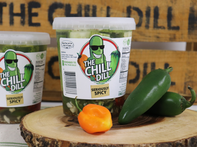The Chill Dill Seriously Spicy