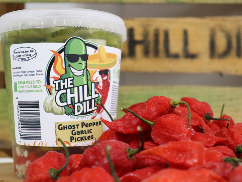 The Chill Dill Ghost Pepper