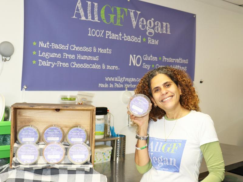 All GF Vegan Founder, Deana