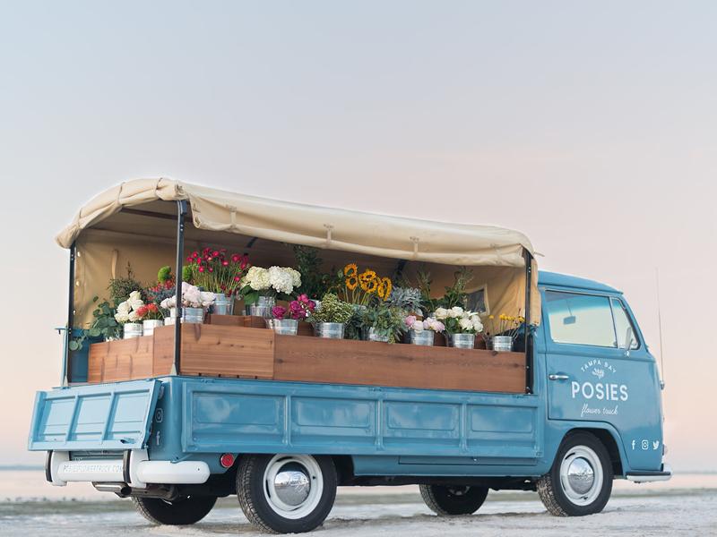 Posies Flower Truck